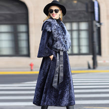 Load image into Gallery viewer, Natural Pure Real Fur Coat Vintage - EK CHIC