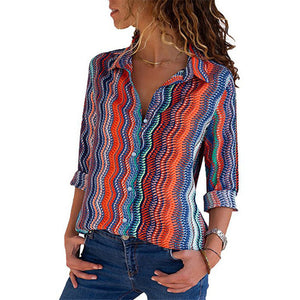 TOPS Women's Chiffon Blouse - EK CHIC