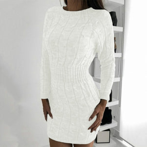 DRESSS Boho Chic Sweater Dress - EK CHIC