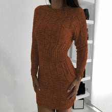 Load image into Gallery viewer, DRESSS Boho Chic Sweater Dress - EK CHIC