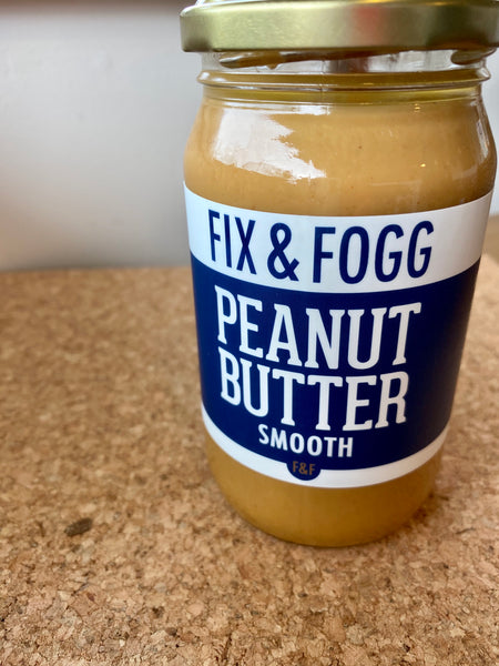 Fix & Fogg Smooth Peanut Butter 375g