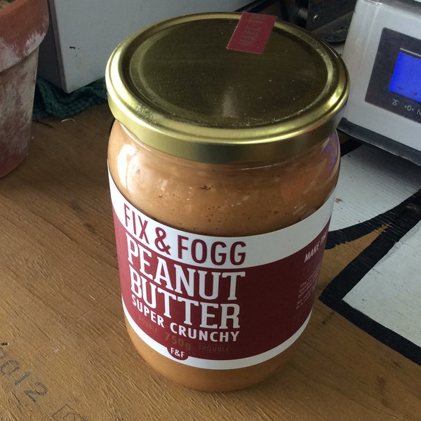 Fix & Fogg Peanut Butter super crunchy 750g