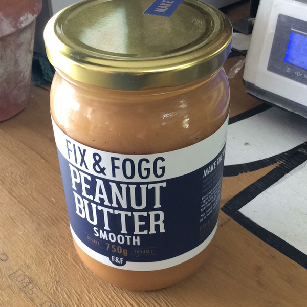 Fix & Fogg 750g Peanut Butter smooth