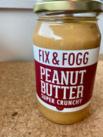 Fix & Fogg Super Crunchy Peanut Butter 375g