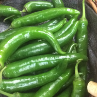 Chillies green,per 40g