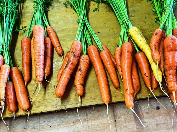 Organic*  carrots (non certified) 500g