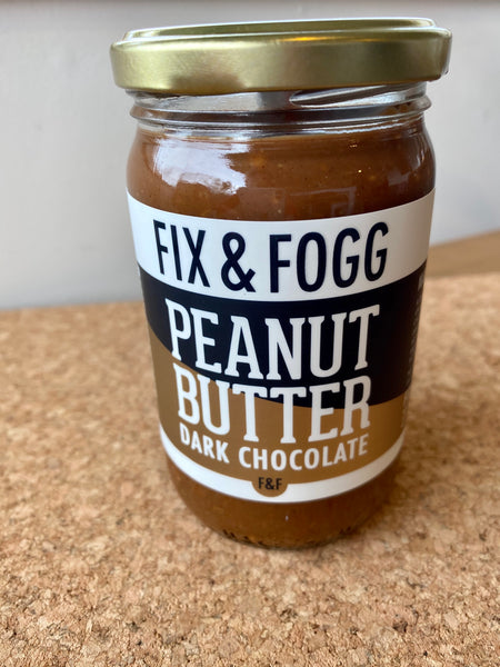 Fix & Fogg Dark Chocolate Peanut Butter 275g