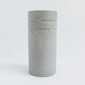 Tall Vase in Cool Grey