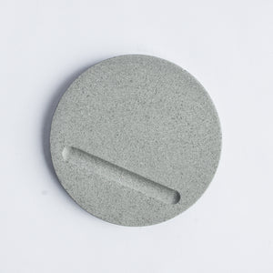 Round Coasters in Cool Grey