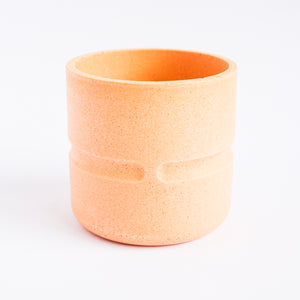 Chubby Pot in Peachy Pink