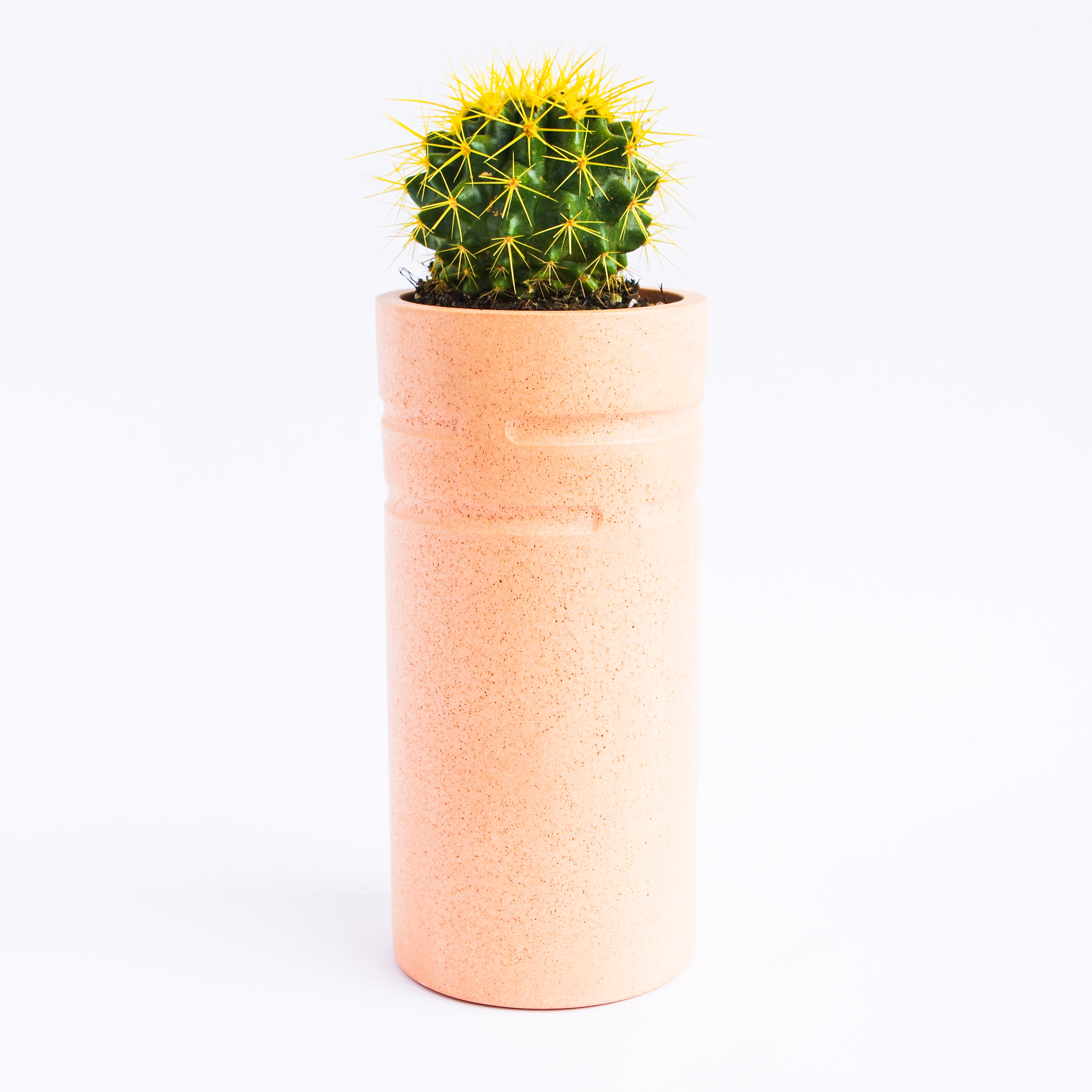 Tall Vase in Peachy Pink