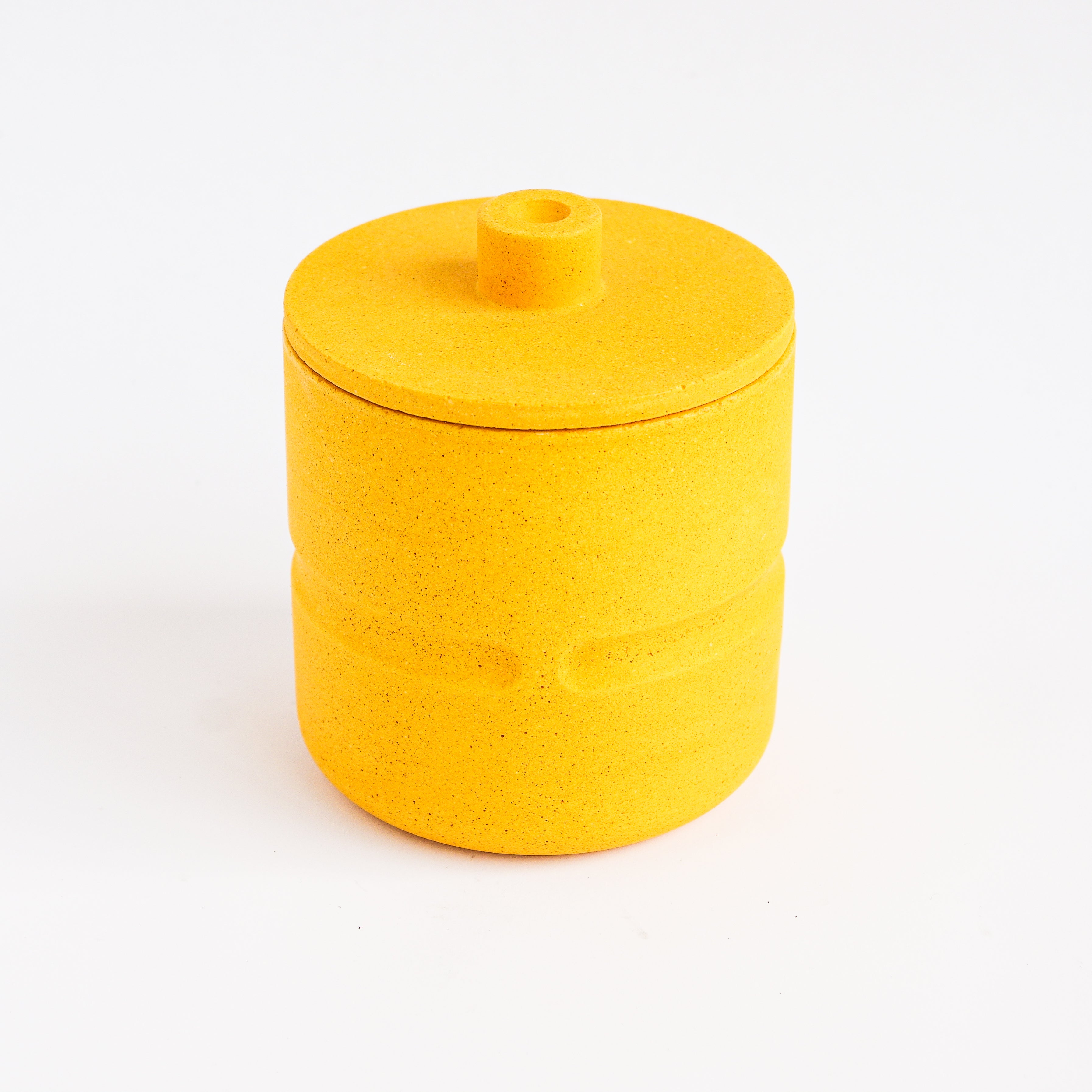Lid for Chubby Pot in Mustard Yellow
