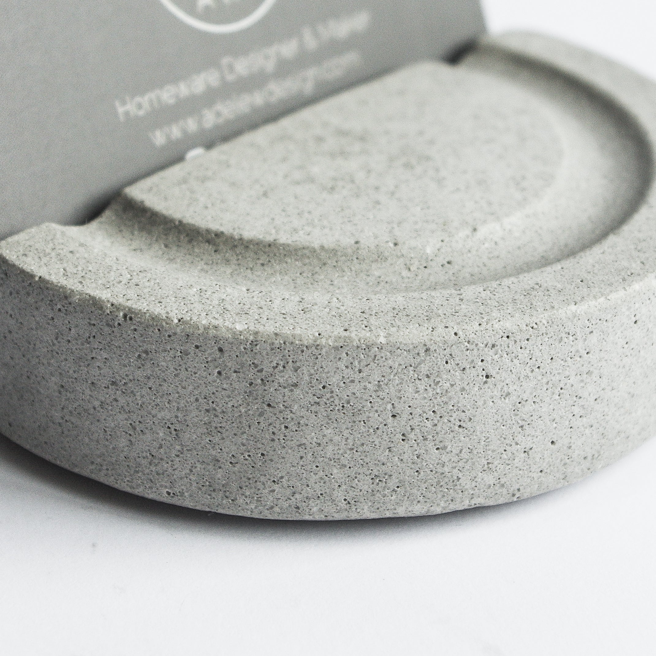 Business Card Holder in Cool Grey