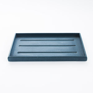 Rectangle Tray In Deep Blue