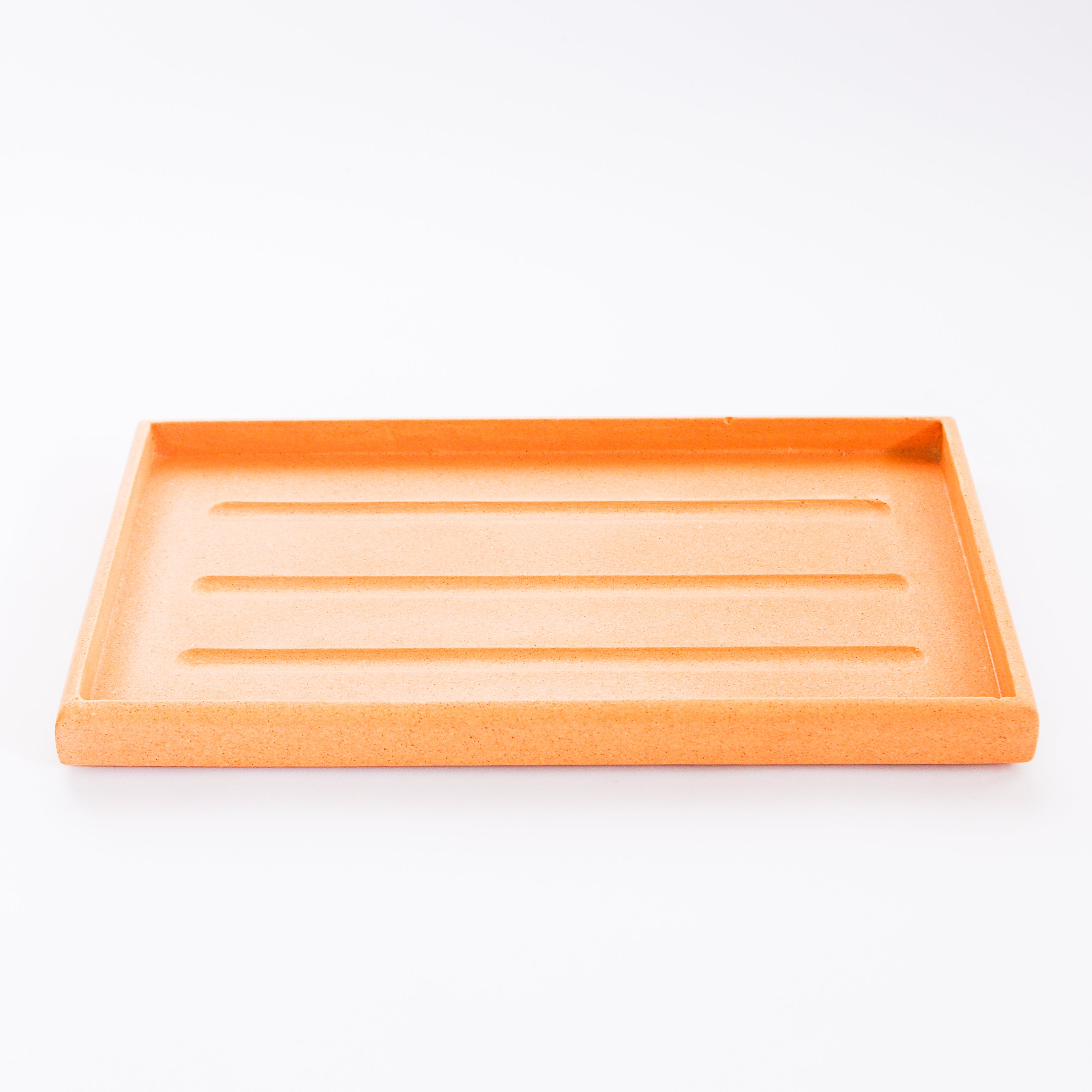 Rectangle Tray In Peachy Pink