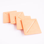 Load image into Gallery viewer, Square Coasters in Peachy Pink