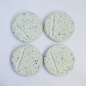 Round Coasters in WASTE