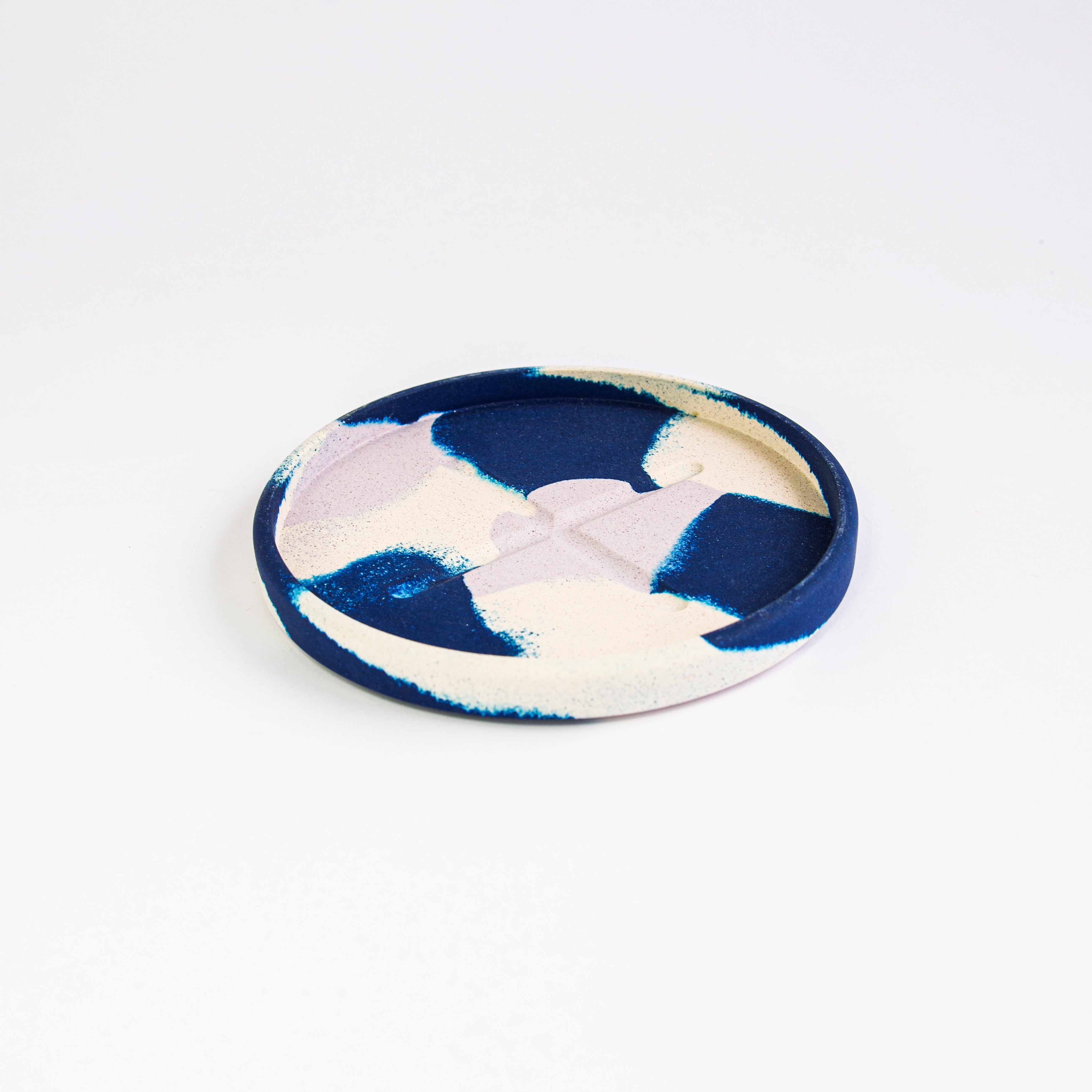 SPLODGE Colbalt Small Round Tray