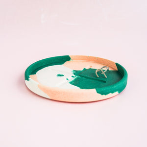 SPLODGE Emerald Small Round Tray