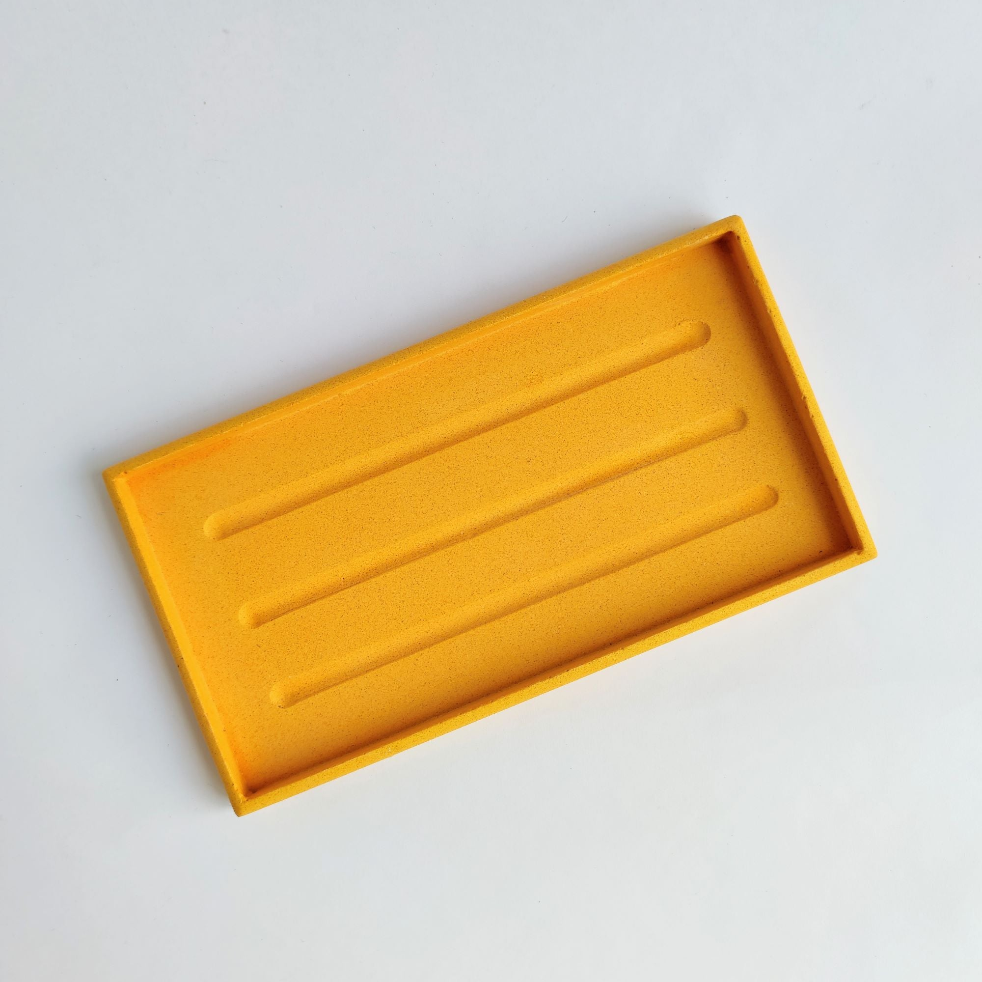 Rectangle Tray in Mustard Yellow