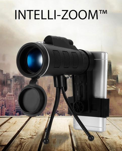 Intelli-Zoom™ 40X60 HD Monocular with Phone Tripod! - Deals You May Like