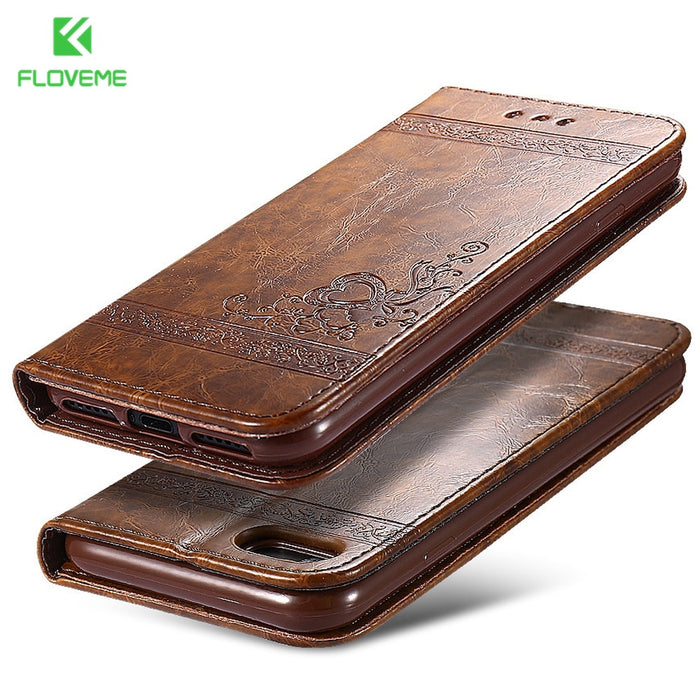 Leather Stand Phone Cases For iPhone - Deals You May Like