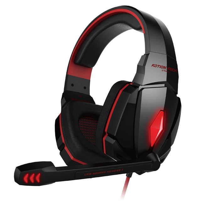 Best Casque Computer Stereo Gaming Headphones with Mic & LED Light - Deals You May Like