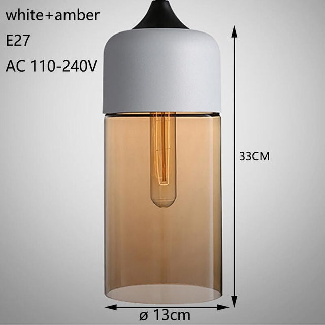 Modern loft hanging Glass Pendant Lamp - Deals You May Like