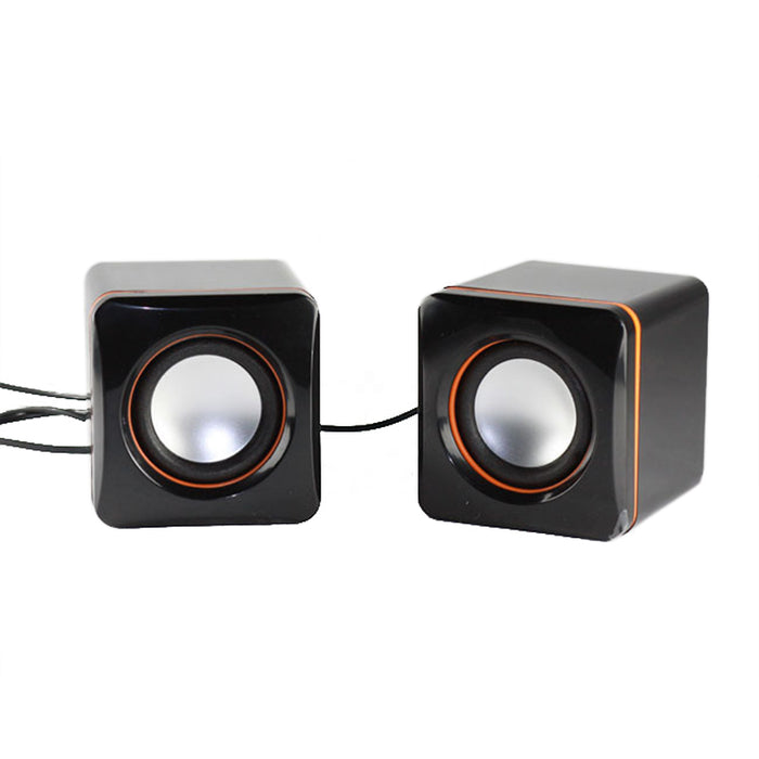 Portable Wired Stereo Sound Speakers for Laptops PC Phone 3.5MM - Deals You May Like