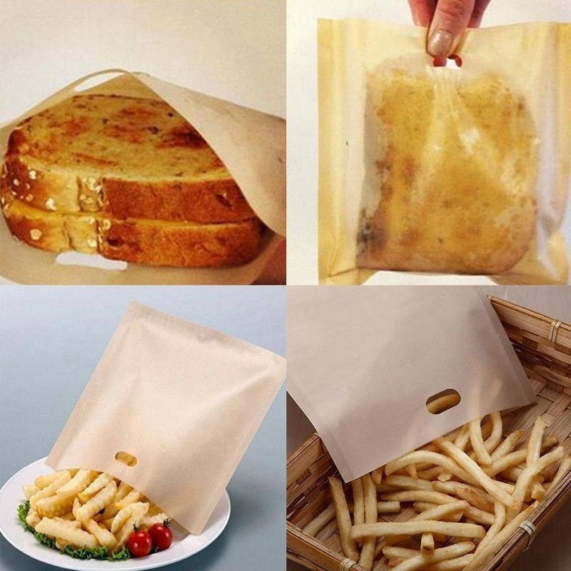 2 Pcs Reusable Toaster Bags - Deals You May Like