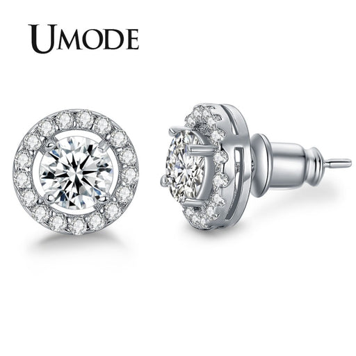 Stone Stud Earrings For Women Brincos Oorbellen Boucle D'oreille - Deals You May Like