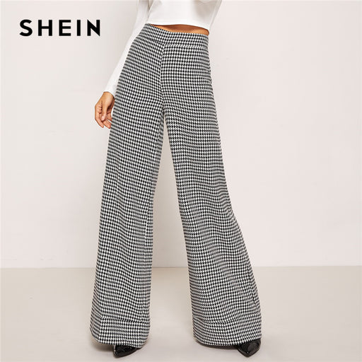 Black And White Casual Trousers - Deals You May Like