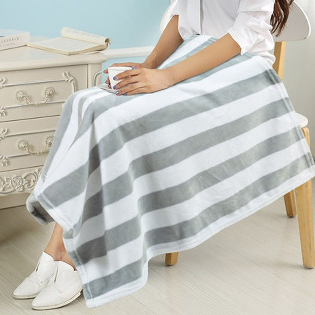 Soft Home Blanket for Baby Sofa Thermal Blankets - Deals You May Like
