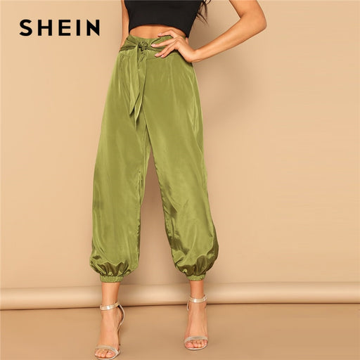 Army Green Zip Back Pants - Deals You May Like