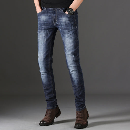 Summer Quality Solid Mens Jeans