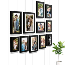 Load image into Gallery viewer, Premium Photo Frames For Wall, Living Room & Gifting - Set Of 11