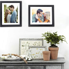 Load image into Gallery viewer, Set Of 2 Table Top Photo Frames Perfect For Home & Office Table Decorations 2 Units Of 8 x 10