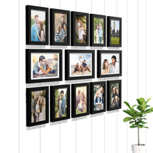 Load image into Gallery viewer, Premium Photo Frames For Wall, Living Room & Gifting - Set Of 13