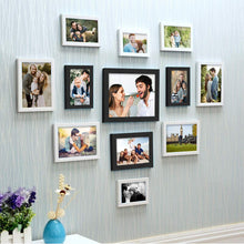 Load image into Gallery viewer, Set Of 12 Individual Wall Photo Frame, For Home Decor With Free Hanging Accessories
