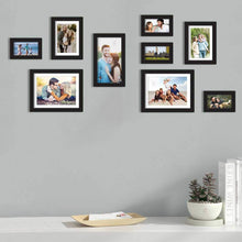 Load image into Gallery viewer, Premium Photo Frames For Wall, Living Room & Gifting - Set Of 9