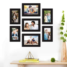 Load image into Gallery viewer, Premium Photo Frames For Wall, Living Room & Gifting - Set Of 7