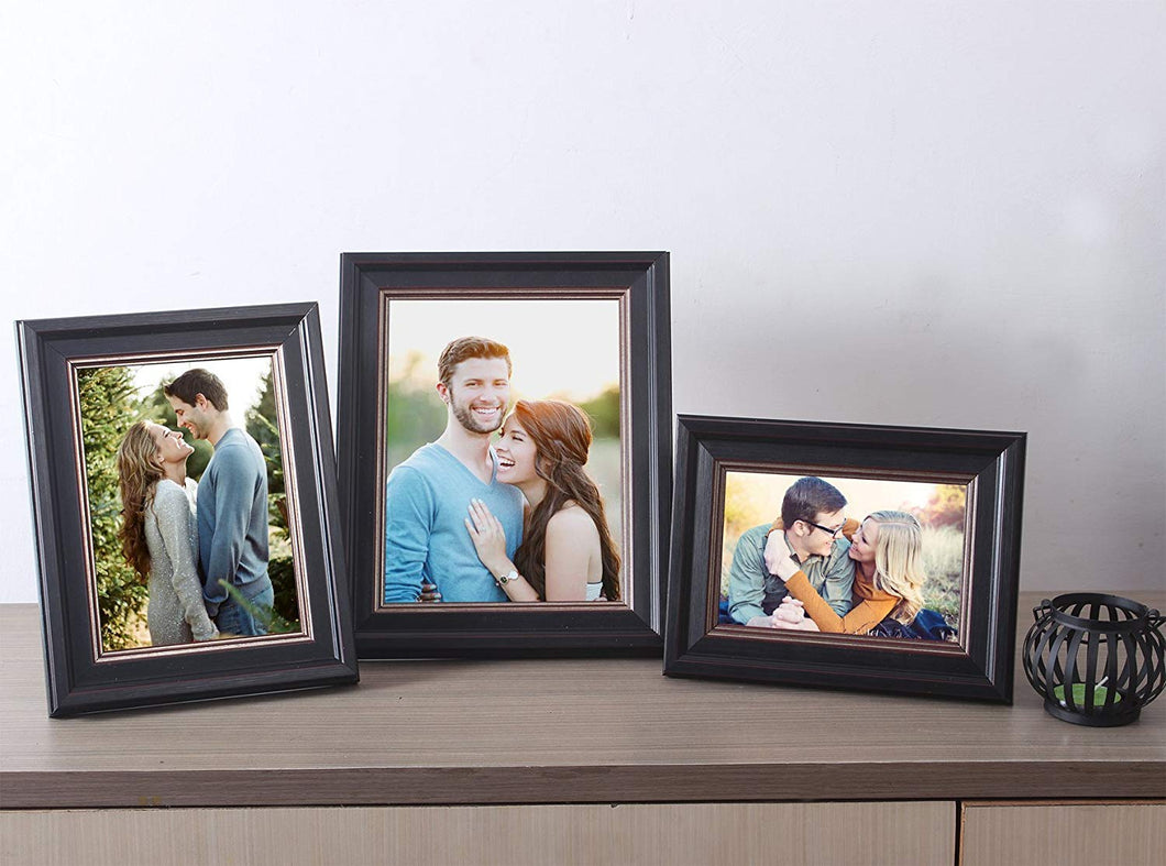 Set Of 3 Table Top Photo Frame For Office & Home Decor