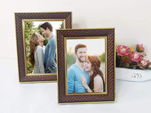 Load image into Gallery viewer, Set of 2 Table Top Photo Frames Perfect For Home & Office Table Decorations 2 Units Of 5 x 7