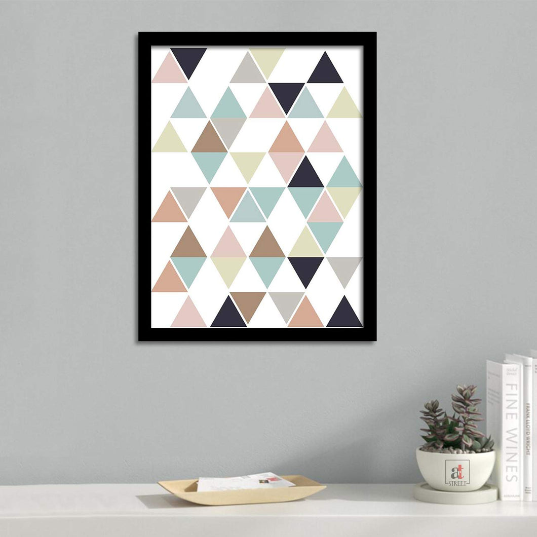 Abstract Theme Framed Art Print Size - 13.5