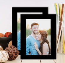 Load image into Gallery viewer, Set Of 2 Table Top Photo Frames Perfect For Home & Office Table Decorations 2 Units Of 5 x 7 Inch