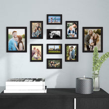 Load image into Gallery viewer, Set Of 10 Individual Wall Photo Frame, For Home Decor With Free Hanging Accessories