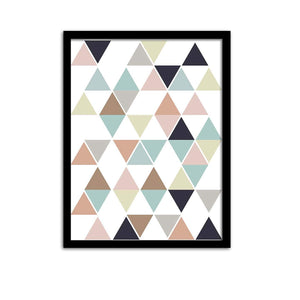 "Abstract Theme Framed Art Print Size - 13.5"" x 17.5"" Inch"