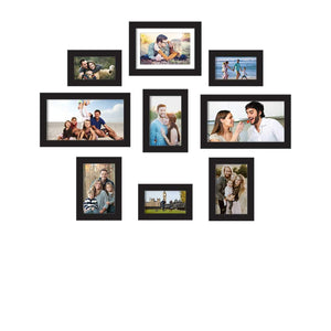 Premium Photo Frames For Wall, Living Room & Gifting - Set Of 9