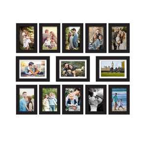 Premium Photo Frames For Wall, Living Room & Gifting - Set Of 13