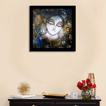 Load image into Gallery viewer, Artistic Krishana Framed Painting, 1 Framed Art Print For Wall Decor Size - 13 x 13 Inch